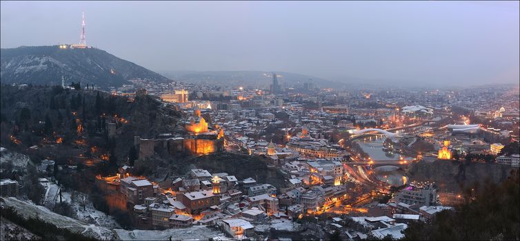 Tbilisi, January, Georgia