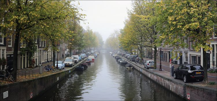 Amsterdam, Netherlands, Holland, channel, Street, at home, city, view