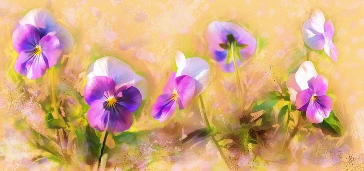 Цифровая живопись. Цветы