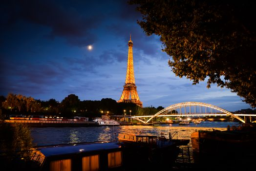 Paris by Night, Paris, France, Eiffel Tower