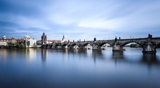 Czech Republic, Prague, Czech Republic, River Vltava