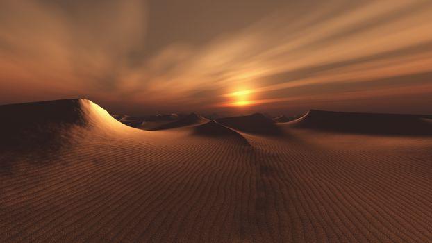 Песчаные дюны (16:9, 30 шт)
