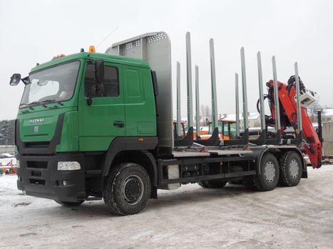 MAZ-MAN, MAZ-MAN-632549, 6x4, sortimentovoz, tractor