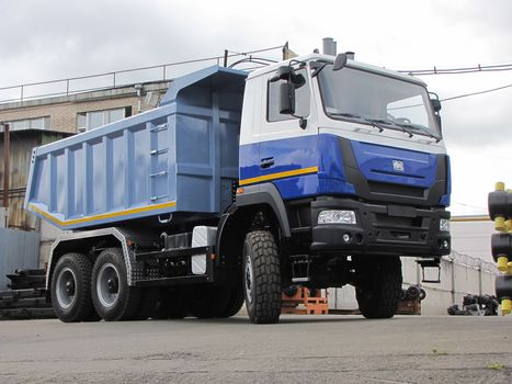 MAZ-MAN, MAZ-MAN-756539, tipper, off-road capability