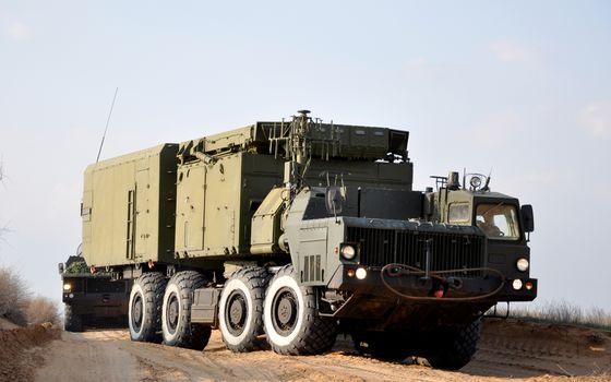 MZKT, heavy, truck, special equipment, РКС, radiolator