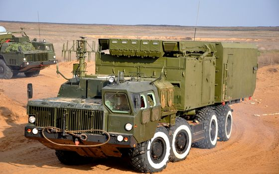 MZKT, equipment, РКС, truck, radiolator
