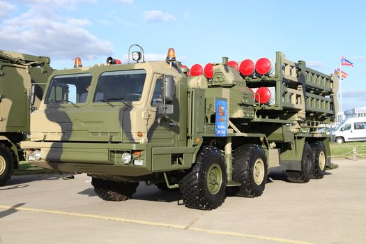 BAS, ZRK, C-350, Knight, self-propelled, launcher, medium range