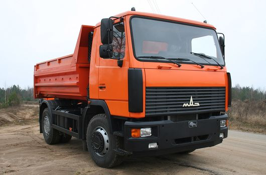 MAZ, MAZ-5550B2, 4х2, tipper, equipment