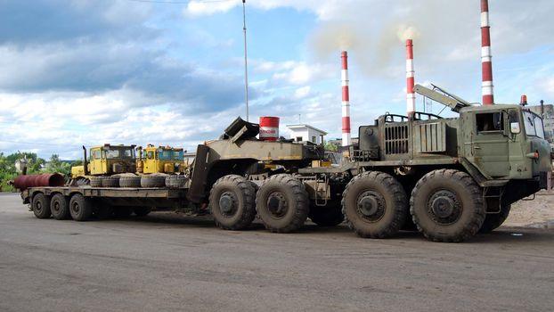 MAZ, MAZ-537, 8х8, tractor, autotrading