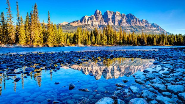 Canada,Banff National Park,Alberta,Castle Mountain