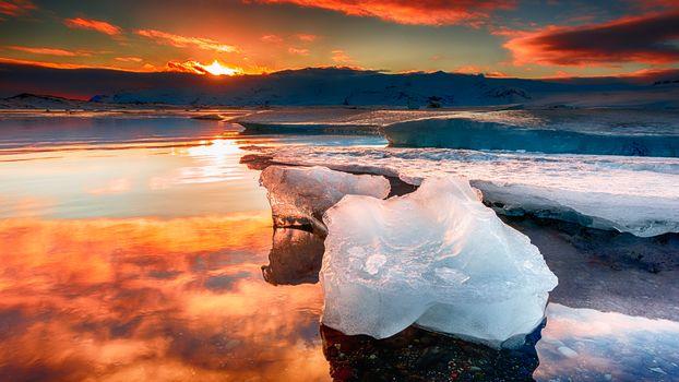 На берегах Исландии (16:9, 30 шт)