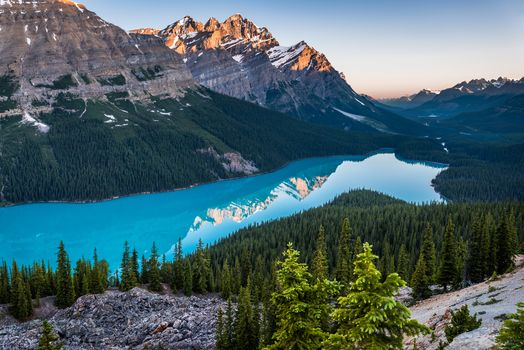 Lake Peito, Banff National Park, Canadian Rockies, Peyto Lake, Banff National Park, Canadian Rockies