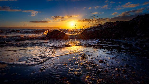 Морские яркие закаты-2 (16:9, 30 шт)