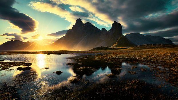 Пейзажи Исландии-2 (16:9, 30 шт)
