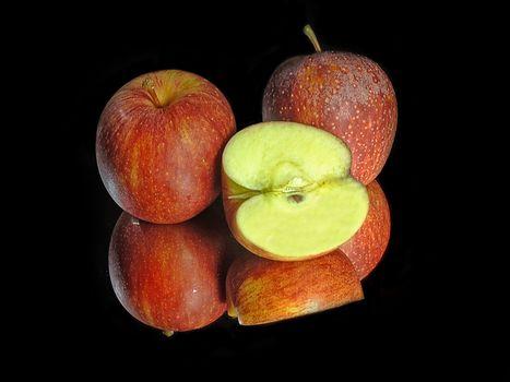 apples, fruit, dessert, food