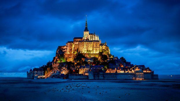 Mont St Michel, Mont-Saint-Michel, Lower Normandy, France