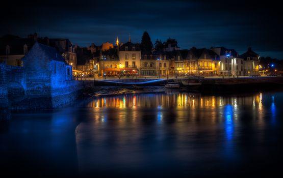 Porte Saint-Gustav, Ore, Brittany, France