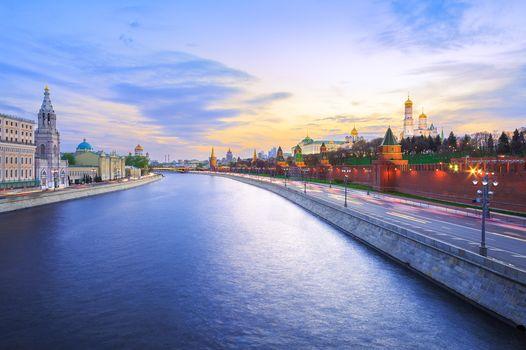 Moscow, Russia, Moscow, Russia, Moscow-river