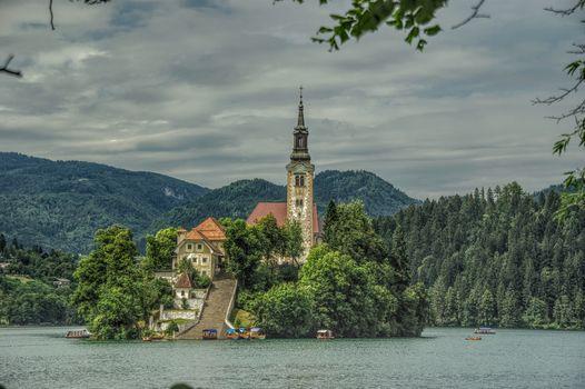 Bled, Bled Lake, Thun Bled, Bled Island, Slovenia