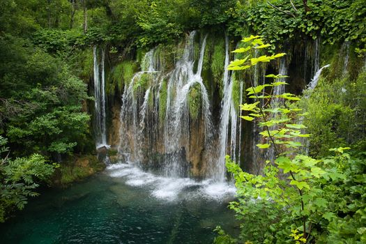 Plitvice Lakes National Park, Plitvice, Croatian, Croatia, waterfall, nature