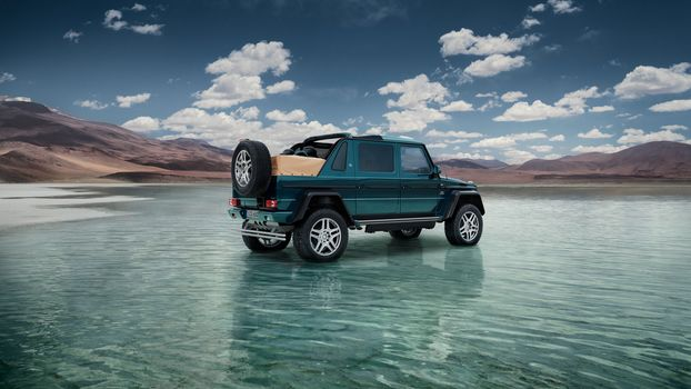 Mercedes-Maybach G 650 Landaulet 2017, car, a car