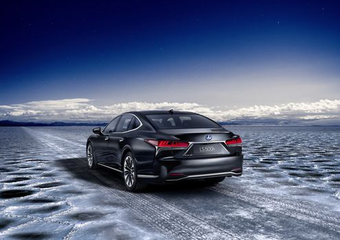 Lexus LS 500h, car, a car
