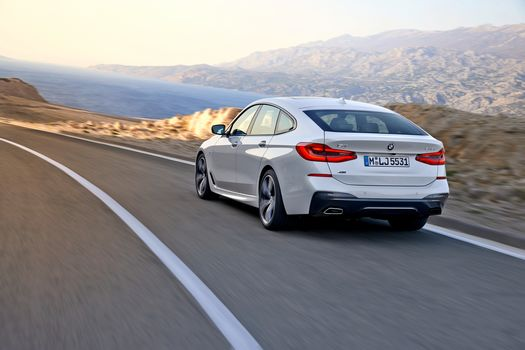 BMW 6er Gran Turbo 640i xDrive, a car, car