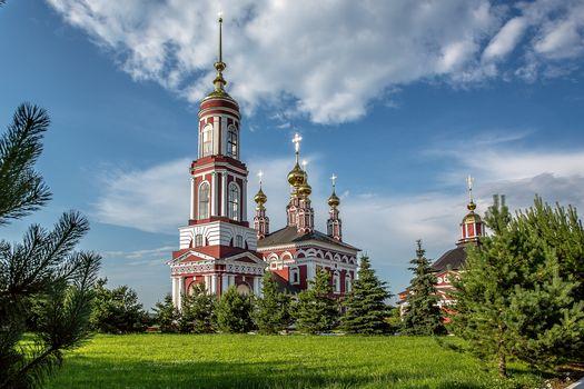 Suzdal, Russia, Vladimir region, landscape
