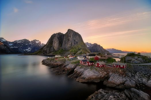 Lofoten, The Rhine, Queen, Norway, Lofoten, Lofoten Islands, Hamnoy, Norway