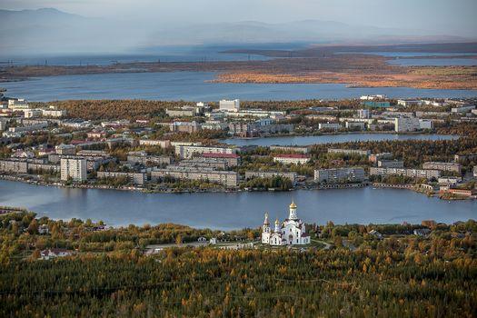 Monchegorsk, Murmansk region, Russia