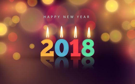 Christmas, background, design, elements, New year wallpapers, new Year, New style, novogodnyaya decoration, toys, ornamentation, 2018, date