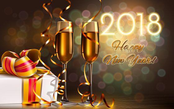 Рождество, фон, дизайн, элементы, Новогодние обои, новый год, новогодний стиль, Новогодняя украшения, игрушки, украшения, 2018, открытка