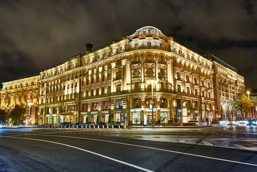 Hotel National, Moscow, Russia