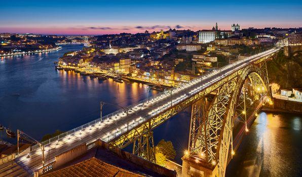 Luis Bridge, Port, Portugal