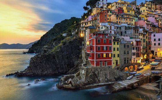 Riomaggiore, Five lands, Italy