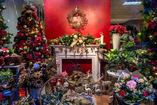 Christmas, background, design, elements, New year wallpapers, new Year, New style, novogodnyaya decoration, toys, ornamentation