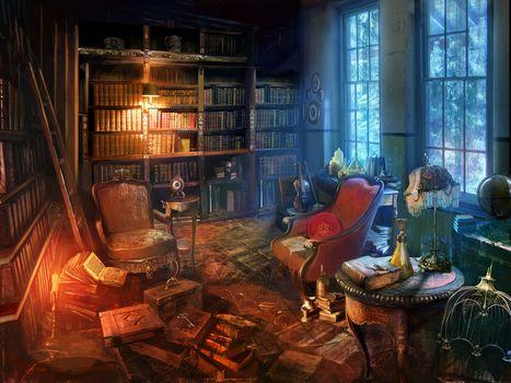 Красивые сказочные интерьеры