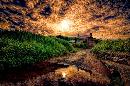 красивый закат 2