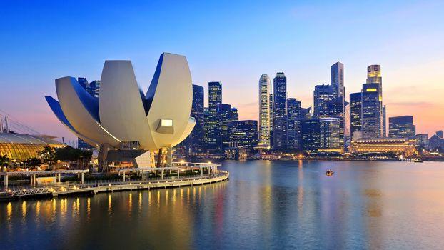 Огни Сингапура (30 шт)