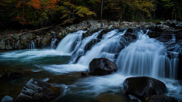 Прохладные водопады (4К, 30 шт)