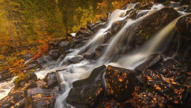 Осенний водопад (2К-4К, 30 шт)
