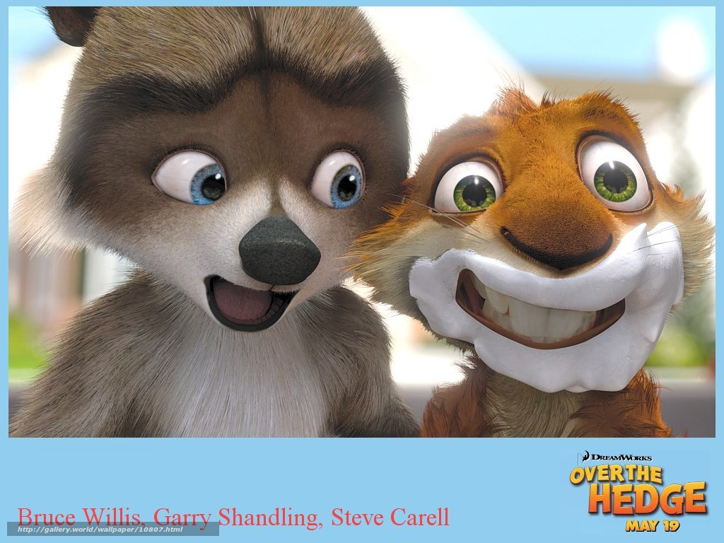 Over the hedge vhs