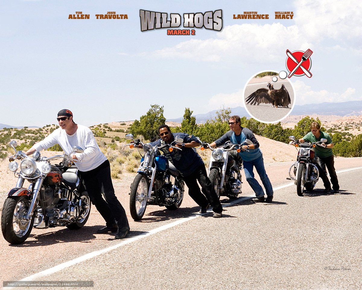Wild hogs movie running time