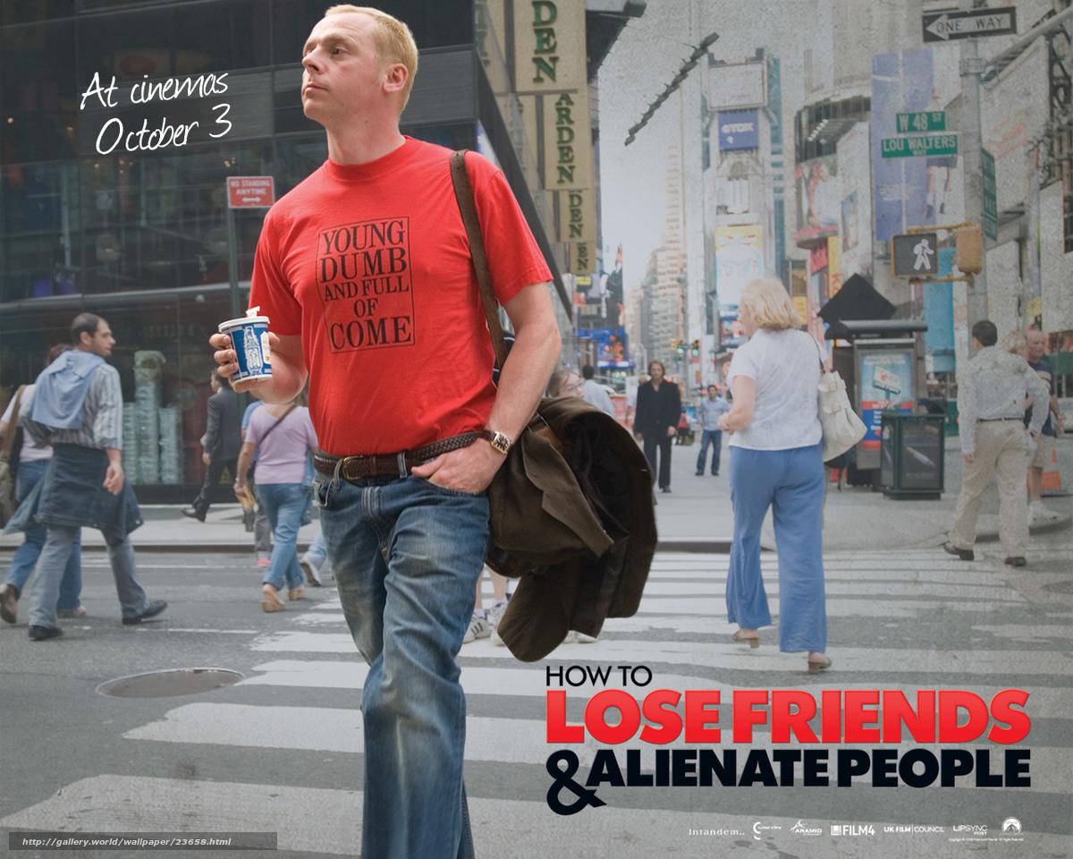 Как потерять друзей и заставить всех тебя ненавидеть, How to Lose Friends & Alienate People, film, movies
