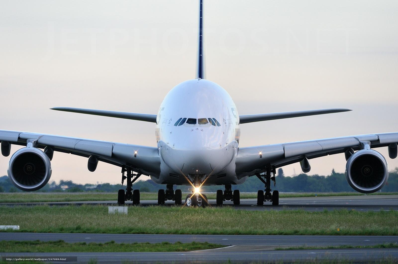 Airbus, A380, гражданская авиация