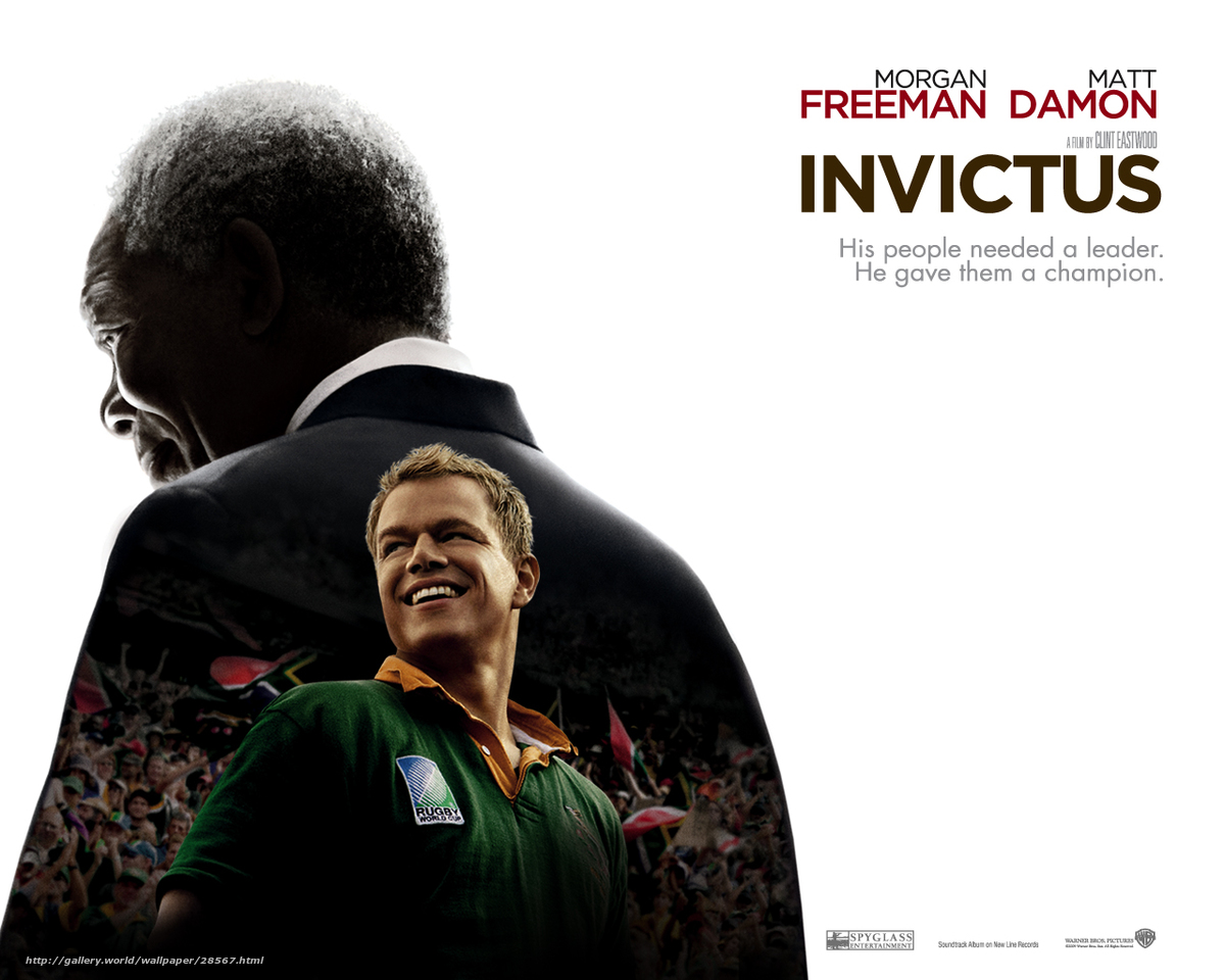 leadership invictus movie report 1 invictus • a 2009 film directed by clint eastwood, starring morgan freeman and matt damon the film is a look at the life of nelson mandela after the fall of apartheid in south.