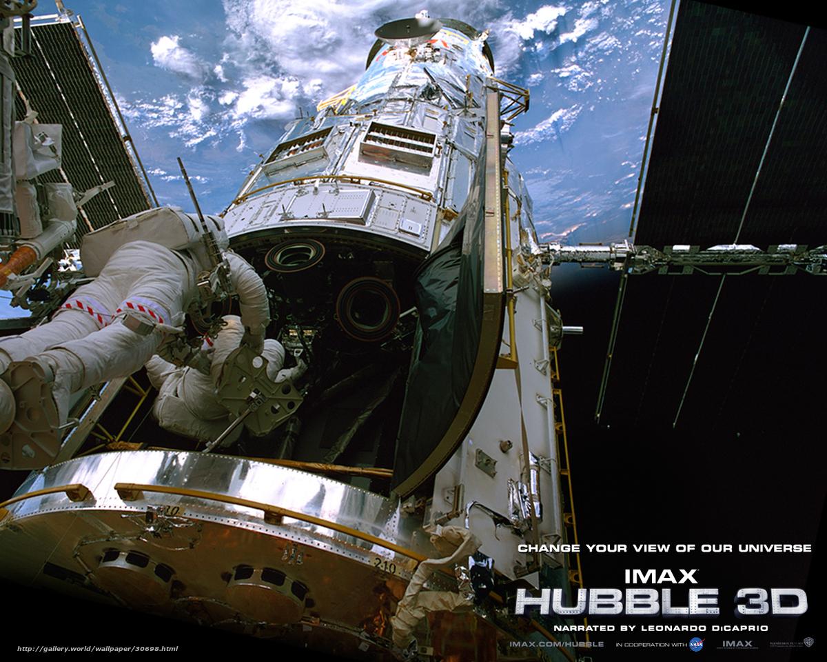 Телескоп хаббл в 3d -  в