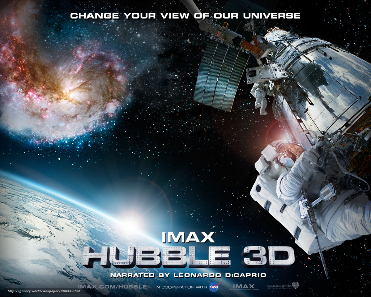 Телескоп хаббл в 3d 2010  the-cinemanet  лучший
