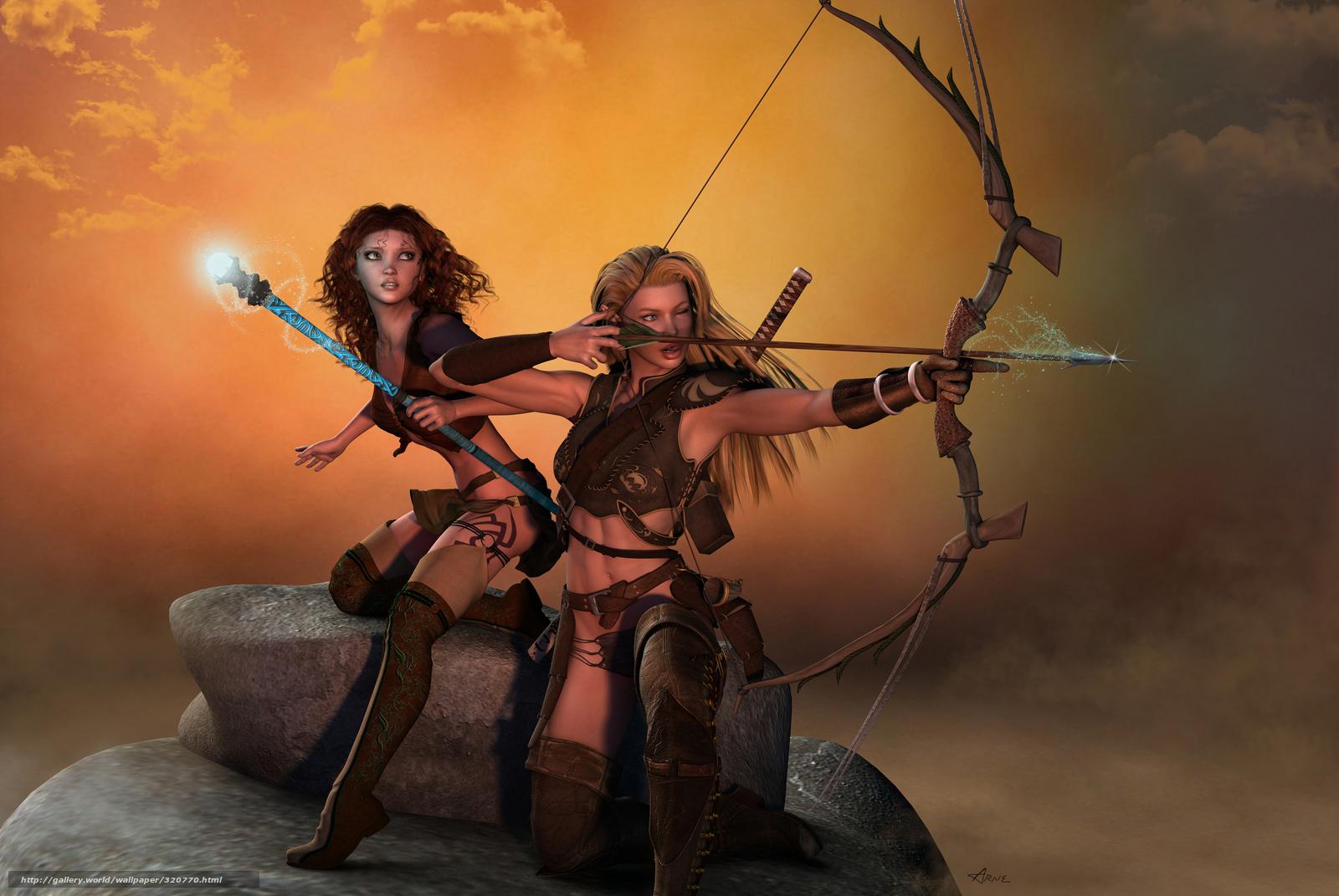 Amazon warriors archer hentia videos