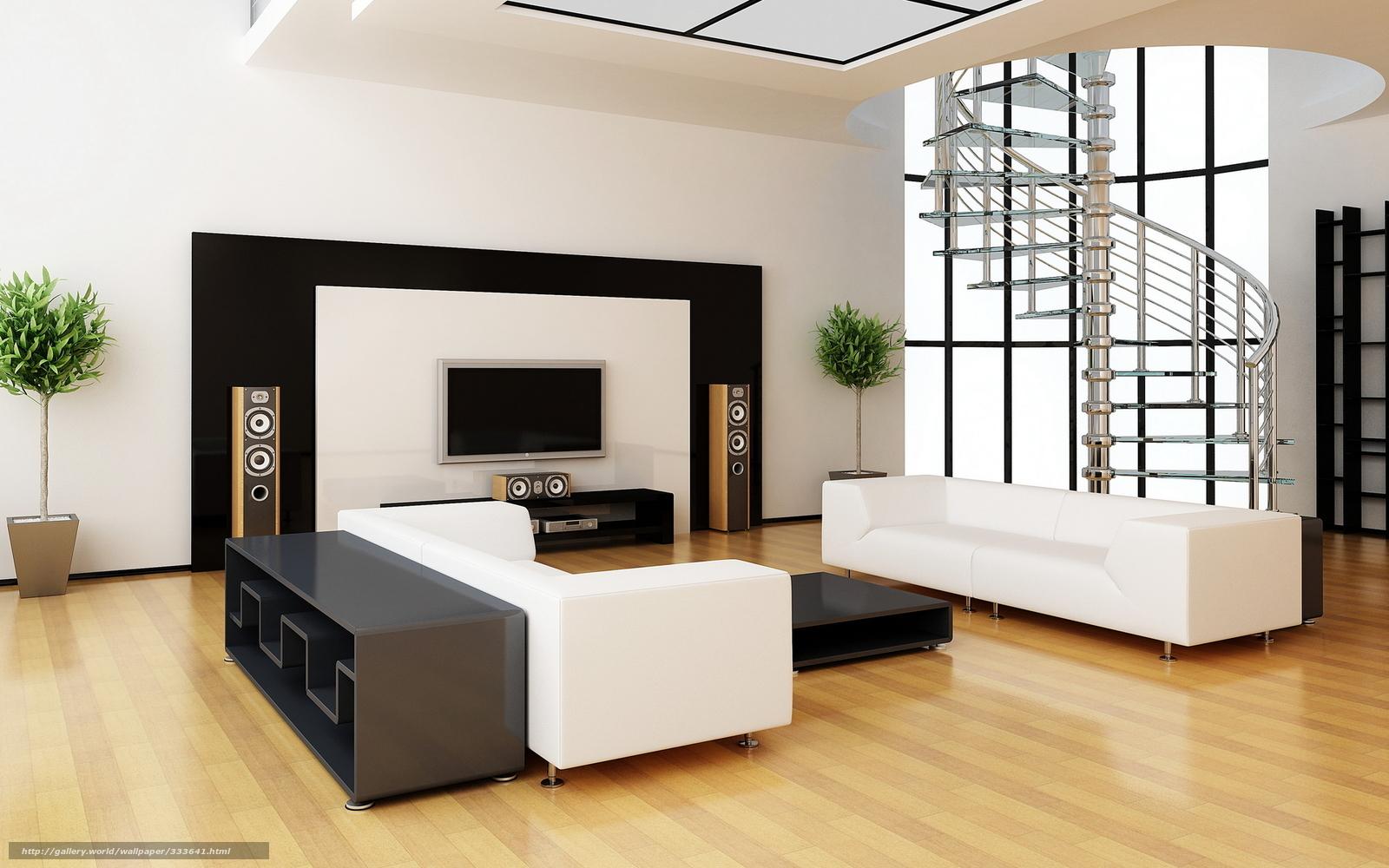 Interr Sala Apartamento Projeto Estilo Aparelho De Som Sof  -> Vasos Na Sala De Tv
